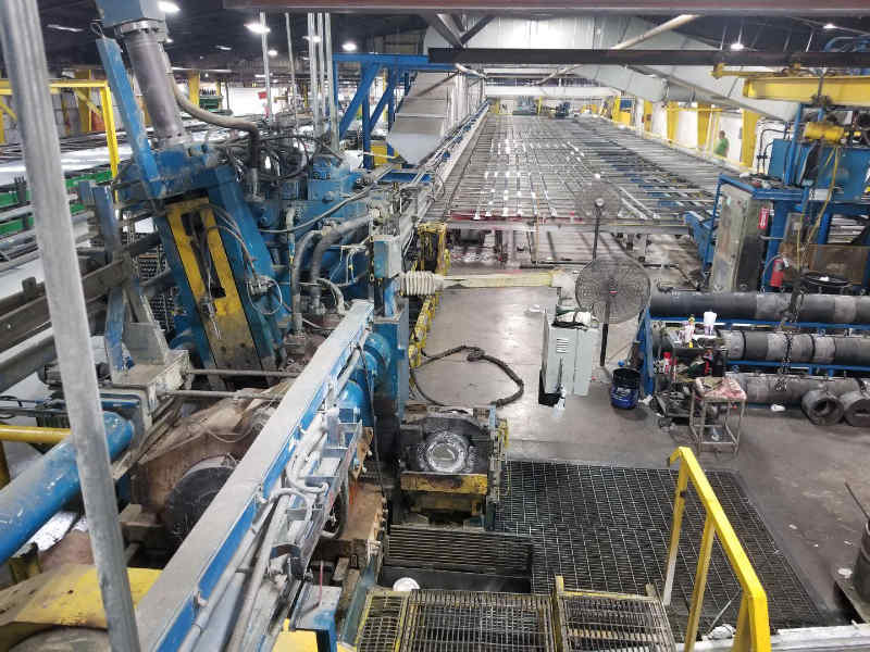 "1850 ton fully automated 7"" extrusion press"
